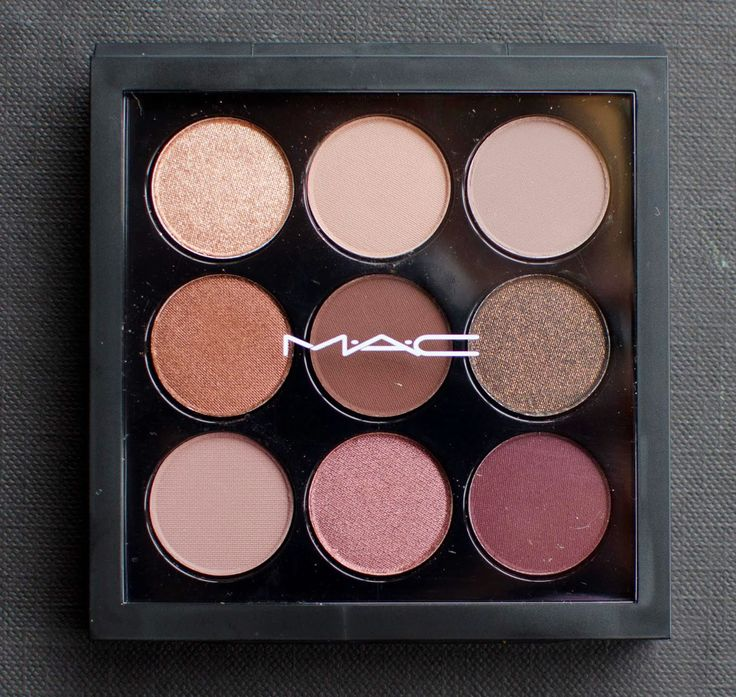 I recently ordered the MAC burgundy times nine eyeshadow palette from Nordstrom ($40) - I don't have a ton of MAC shadows so I thought...