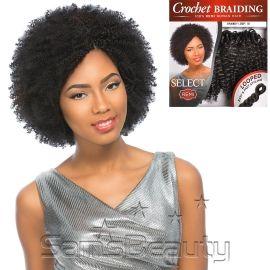 Sensationnel Remy Human Hair Crochet Braids Select Brandy Loop 2Pcs