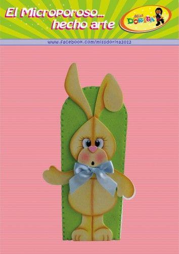 Conejo Manualidades de Pascuas 1