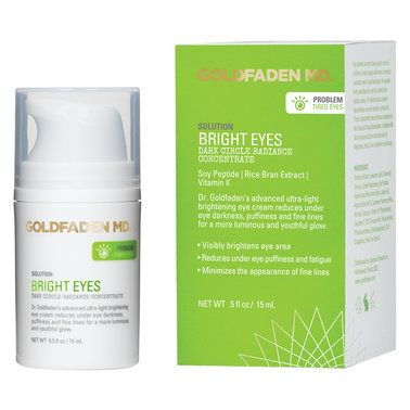 Goldfaden MD <p>A dark circle radiance concentrate like no other! This is a targeted brightening treatment for tired looking eyes and the entire ocular region.</p>