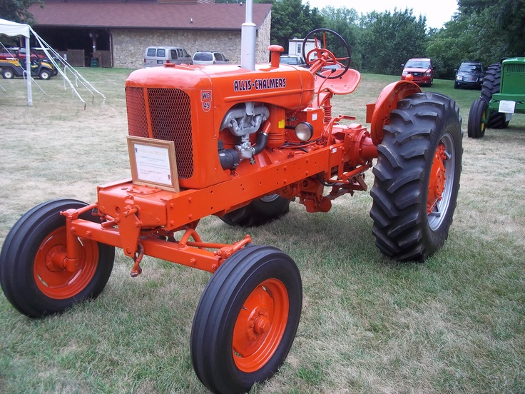 Late 1940s-50s Allis Chalmers WD45 tractor | Allis ...