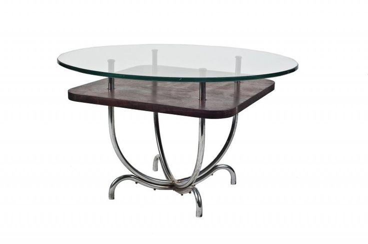 Funkcionalistický konferenční stolek | Aukce obrazů, starožitností | Aukční dům Sýpka