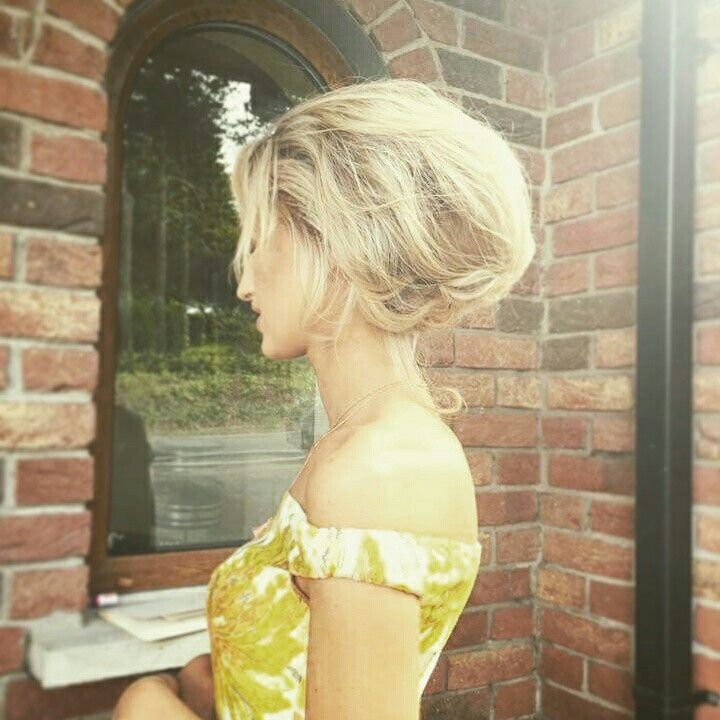 The lovely Beckys pretty bouffant