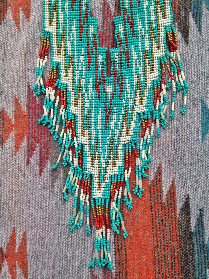 Bohemian Necklace at www.rocksandsocks.com