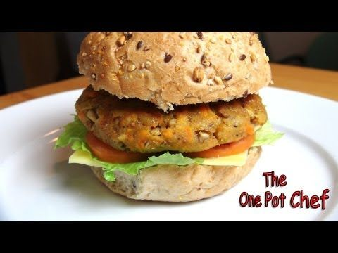Easy Veggie Burgers - RECIPE - YouTube