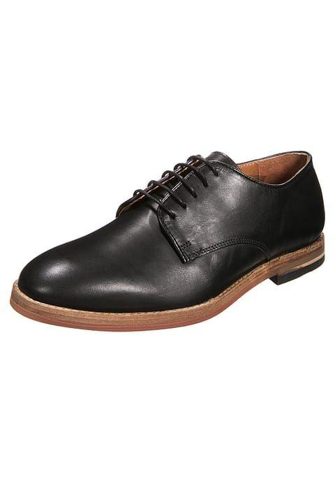 Derbies & Richelieu H by Hudson HADSTONE - Chaussures à lacets - black noir: 66,00 € chez Zalando (au 24/07/17). Livraison et retours gratuits et service client gratuit au 0800 915 207.