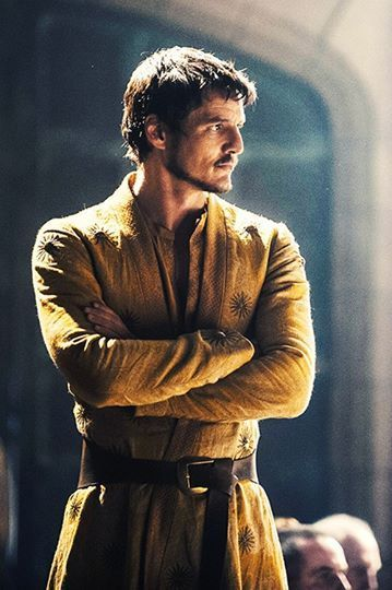 Heartstoppingly elegant. We should dress like this all the time.  Game of Thrones : Oberyn Martell