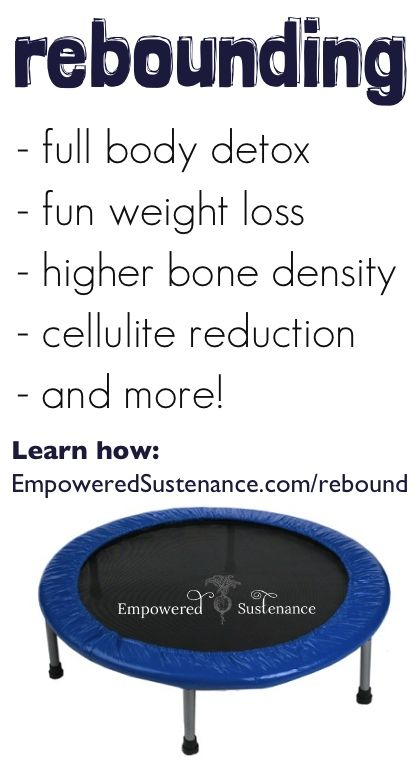 Rebounding is one of the most beneficial forms of exercise. Learn how to properly rebound!