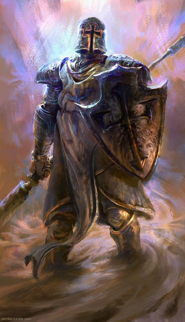Crusader, Diablo 3 by MikeAzevedo on deviantART