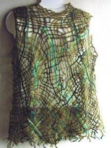 くさり編み Ⅱ (chain stitch Ⅱ)の画像:糸始末な日々 Thread&Yarn Handing Days