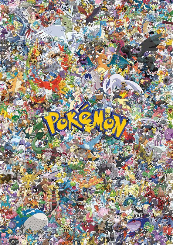 Pokemon Pikachu all 600 characters pokemons High by ...