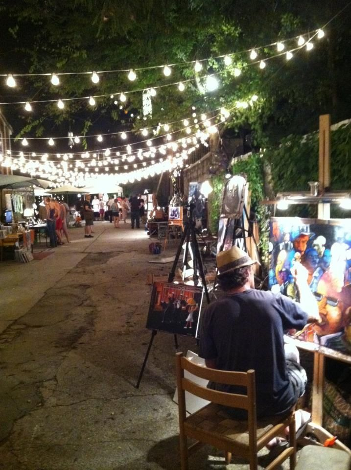 Frenchmen Art Market (619 Frenchmen) is open Thursday-Sunday evenings until midnight or later.