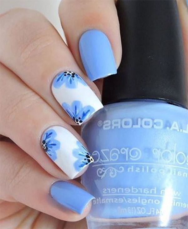 45 Spring Nail Art Designs Nail Art Ideas For Spring 2019