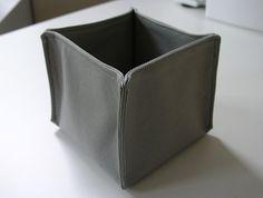 коробки из ткани своими руками-14