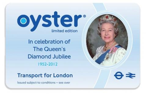Transport for London's special edition Oystercard.  Oyster is a plastic smartcard you can use instead of paper tickets. You can put Travelcards, Bus & Tram season tickets and pay as you go credit on it.   Oyster is the cheapest way to pay for single journeys on bus, Tube, tram, DLR, London Overground and most National Rail services in London.