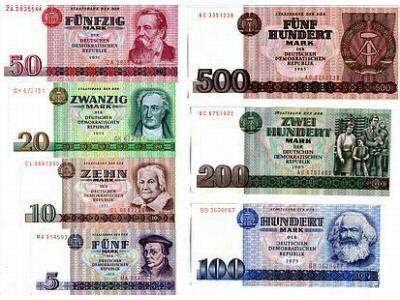 DDR-Geld ... Passt zu dem Buch, das ich derzeit schreibe ...
