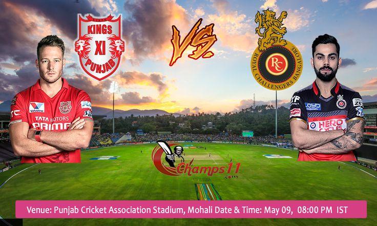 IPL 2016 Kings XI Punjab Vs Royal Challengers Bangalore