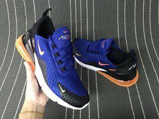 save off buy cheap half off Mens Shoes Nike Air Max 270 Royal Blue Orange White | Nike air max ...