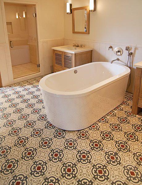 Mediterranean inspired floor tile   Exquisite Surfaces