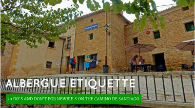 Albergue Etiquette on the Camino de Santiago