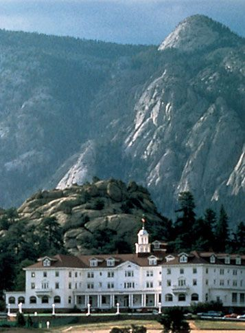 The Stanley hotel, Estes Park, Colorado. Known to be Steven King's inspiration for the shining. Has been known for paranormal activity.