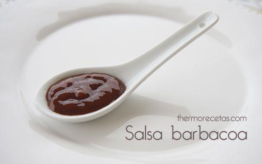 Salsa barbacoa  (Trocear la cebolla 5 segundos a velocidad 4. Bajar el producto pegado en las paredes del vaso al fondo. Añade 15-20g. de aceite y cocina 8 minutos a temperatura varoma, velocidad 1.) (Probar la receta añadiendo también un chorrito de salsa de soja)