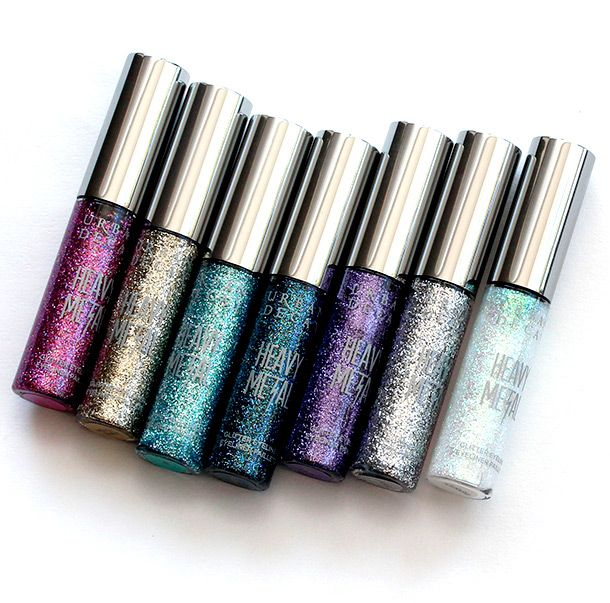 These are so awesome: Urban Decay Heavy Metal Glitter Eyeliner