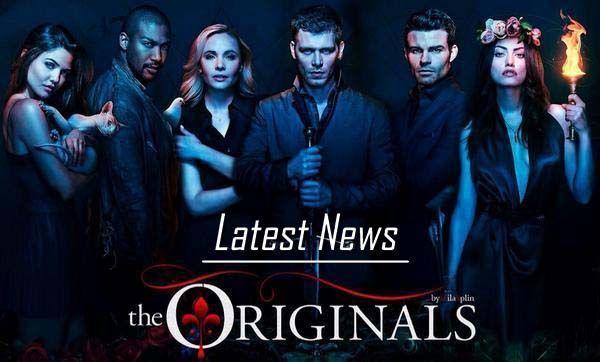 Latest News on The Originals November 3rd Thru 8th.