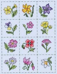 cross stitch floral - Google Search