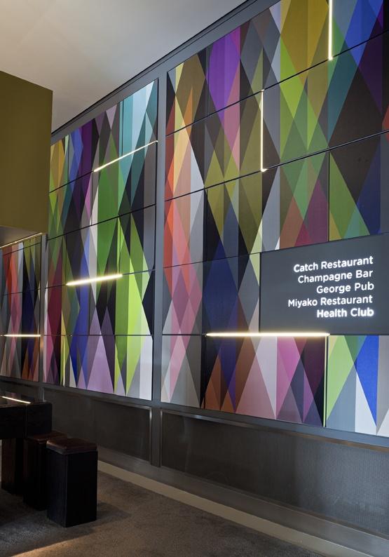 Cole Son Geometric Wallpaper Panels Circus