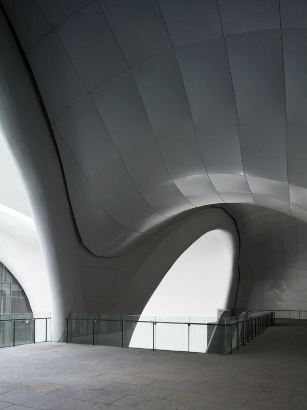 Ordos Museum, MAD Architects, Futuristic Interior Design, Futuristic Building