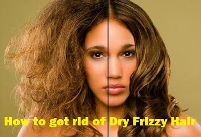 how to get rid of frizzy curly hair at home