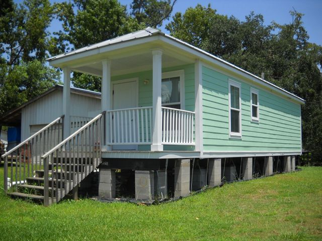 35 best katrina houses images on pinterest Prefab shotgun house