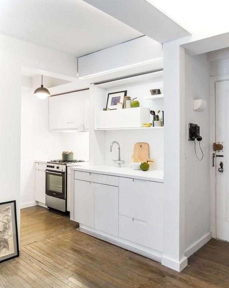 25 beste idee n over klein appartement keuken op pinterest klein appartement versieren - Keuken uitgerust voor klein gebied ...