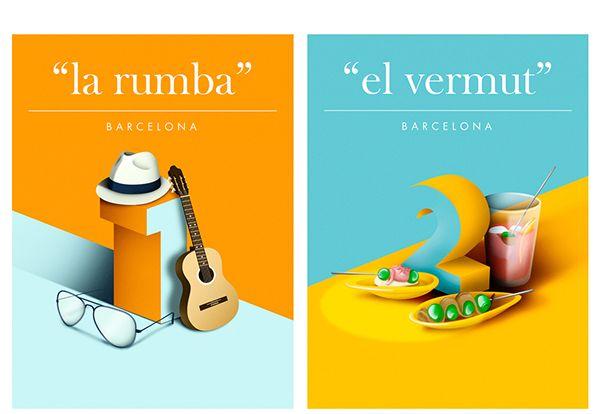 Barcelona Numbers on Behance