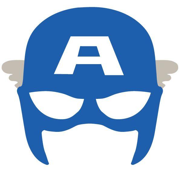 Superheroes Mask: Captain America