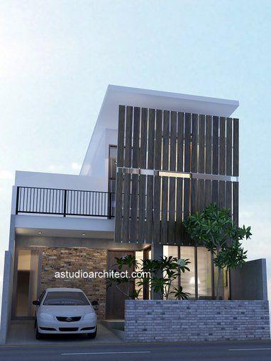 a: Rumah Modern diatas lahan 8x15m [Desain Siap Pakai kode 017]