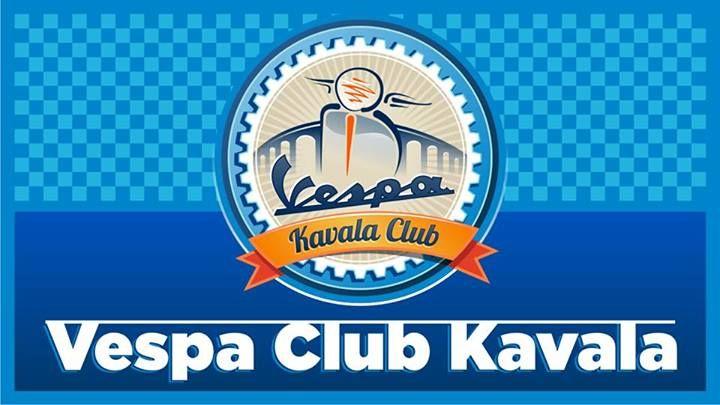 #VespaClubKavala #logo