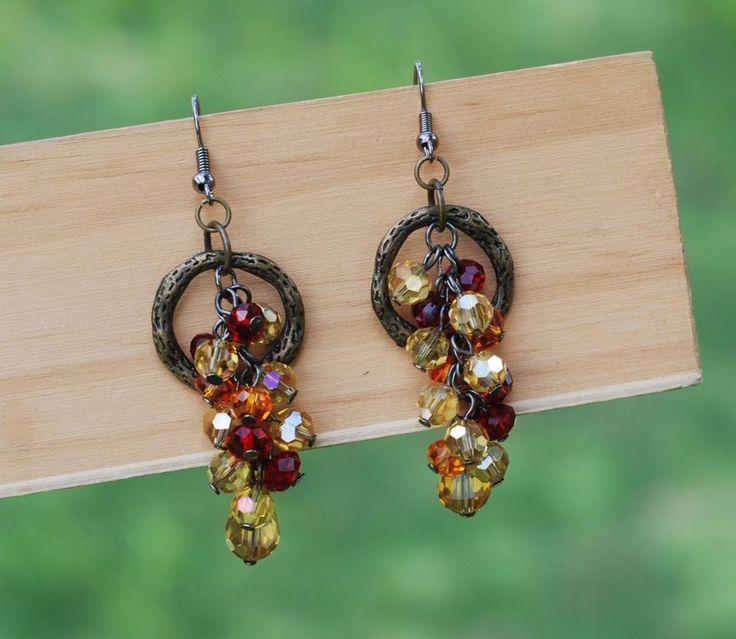 63 best Beaded Earrings images on Pinterest | Beaded earrings ...