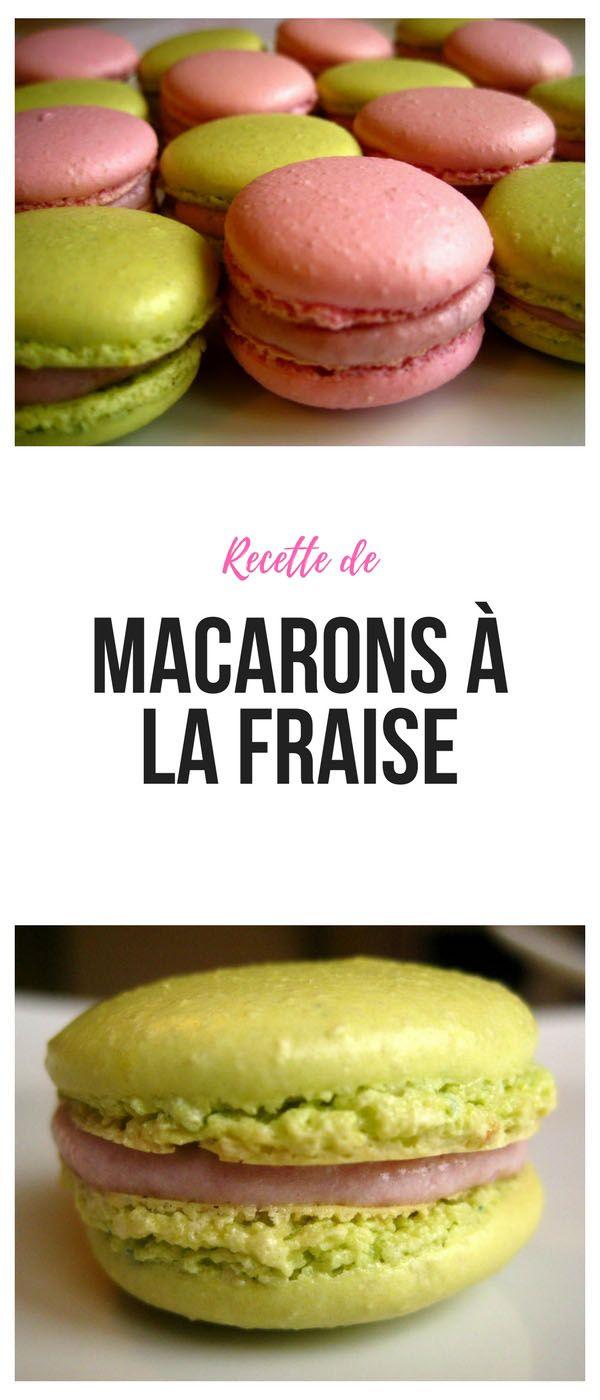#macarons #fraise