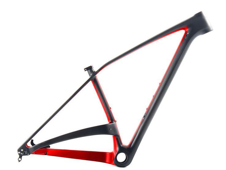 Free Shipping 2016 SOBATO 650B 27.5er Mountain Bike Frame, Carbon 29er Plus Frame MTB 29+ Plus Or  27.5+ Bike Frame