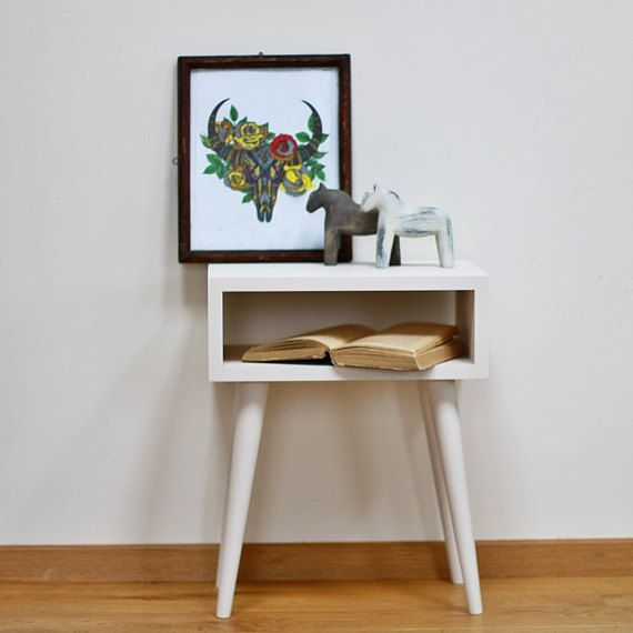 Best Bedside Table With Drawer Mid Century Modern Furniture 400 x 300