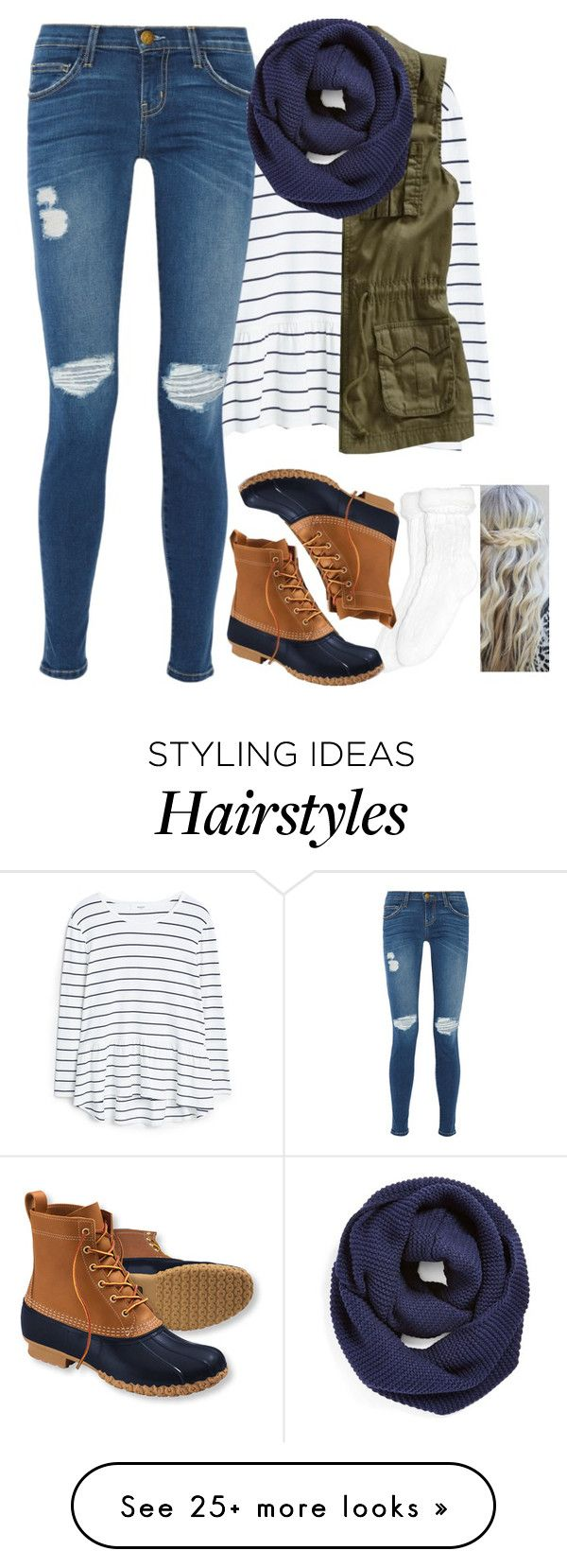 """"" 'Cause there's still, too long till the weekend."" "" by meljordrum on Polyvore featuring MANGO, Old Navy, Current/Elliott, Xhilaration, L.L.Bean, BP., women's clothing, women's fashion, women and female"