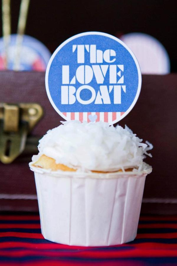Love Boat Farewell Goodbye Themed Party via Kara's Party Ideas - www.KarasPartyIdeas.com