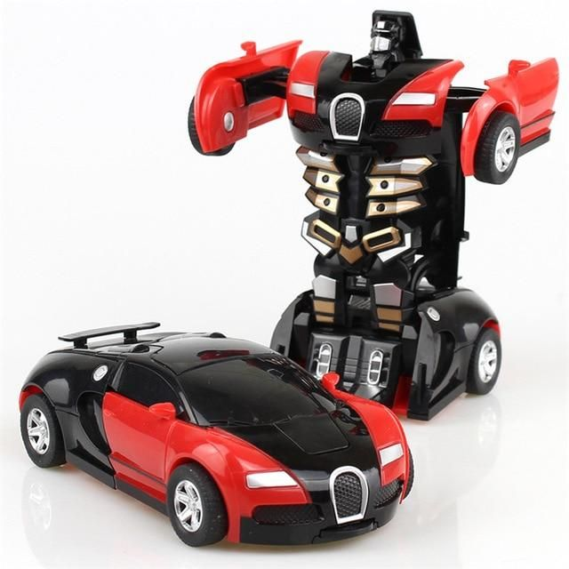 Toys for Kids Transformer RC Robot Car Remote Control 2 IN 1 Boy Baby Xmas Gift