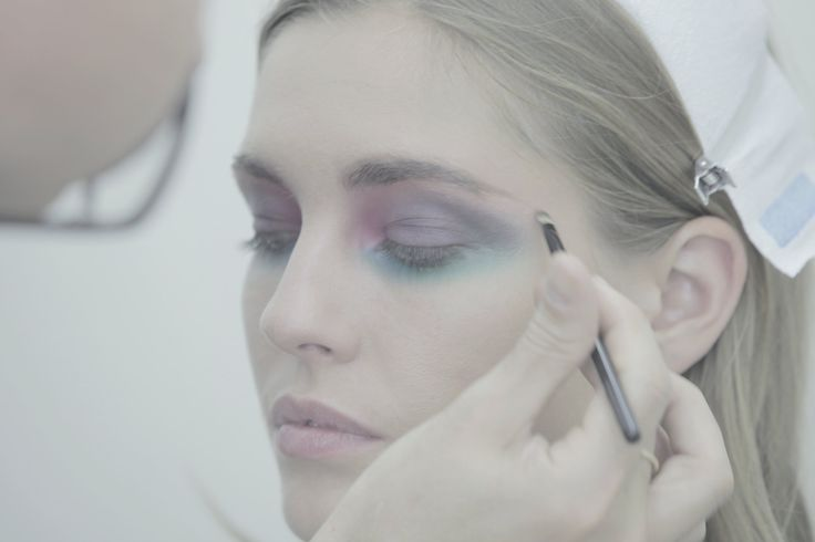 Chanel SS2015 RTW, Makeup by Tom Pêcheux, Photo Romina Shama