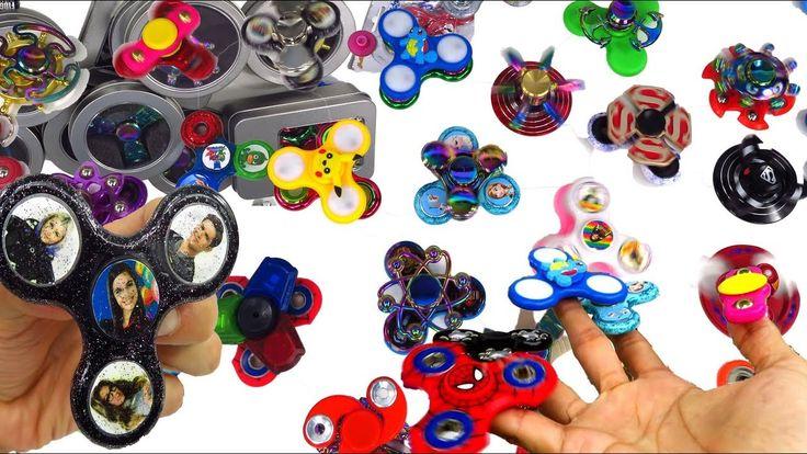 50+ Colección de Fidget Spinners de Casa Magica de Juguetes con Más de 5...