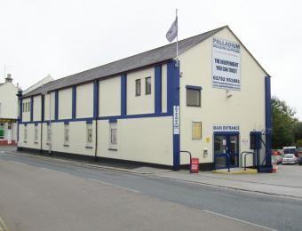 Former Palladium Cinema St Levans Rd Stoke Plymouth - nowadays a builders merchants