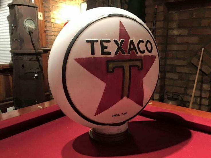 Texaco 1-Piece Gas Globe