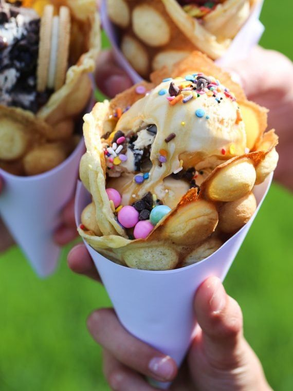 Everything Is Better In A Waffle Cone From Humani Tcafe Waffle Cones Are Back Waffle Cones Waffles Cones